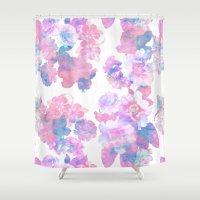 Le Fluer Pastel Shower Curtain