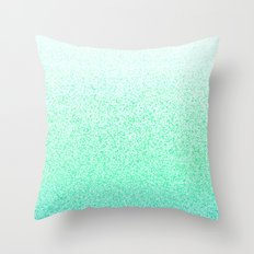 I Dream in Mint Throw Pillow