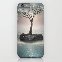 iPhone Cases featuring Roots Below the Earth (Tree of Solitude) by soaring anchor designs
