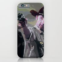 iPhone & iPod Case featuring Rick Grimes by Processed Image