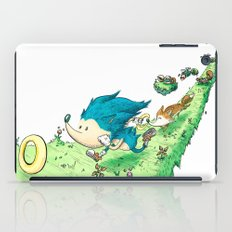 Starring Sonic and Miles 'Tails' Prower (Alt.) iPad Case