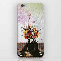 Madame Noon iPhone & iPod Skin