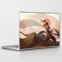 sun Laptop & iPad Skins featuring Spiritual State by Caleb Thomas