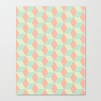 Patterns on Patterns Canvas Print