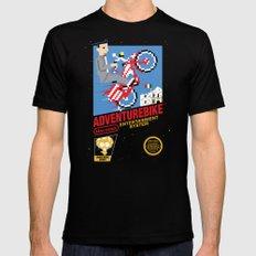 Adventurebike Mens Fitted Tee Black SMALL