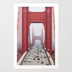 Across The Gate Art Print