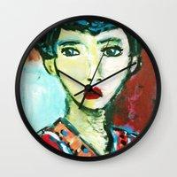 LADY MATISSE IN TEEN YEA… Wall Clock