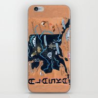 ALASKA iPhone & iPod Skin