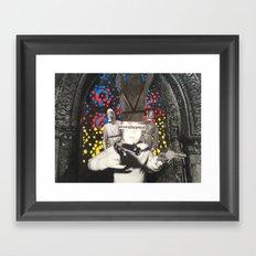 Downhearted Framed Art Print