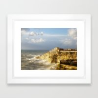 Beirut, Lebanon. After the Rain. Framed Art Print