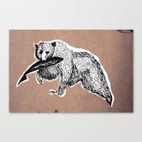 Bear 3 Canvas Print