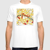 BOOGIE WOOGIE PARIS Mens Fitted Tee White SMALL