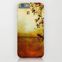 iPhone & iPod Case featuring Red Dawn by Bella Blue Photography