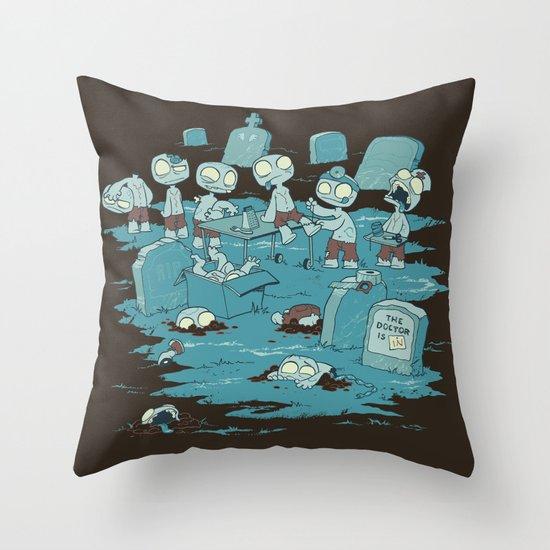 The Body Shop Throw Pillow