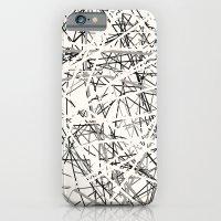 Stings (B&W) iPhone 6 Slim Case