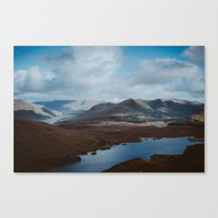 The Hills of Connemara, Ireland Canvas Print