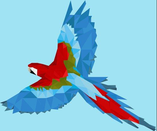 Geometric Bird Art Print