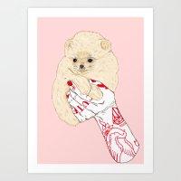 Cute Pups Art Print