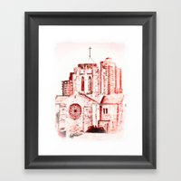 Our Lady Queen Of Martyr… Framed Art Print