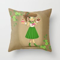 Retro Sailor Jupiter Throw Pillow