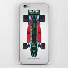 Outline Series N.º2, Mario Andretti, Lotus 80-Ford 1980 iPhone & iPod Skin
