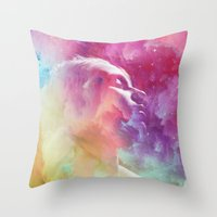 Unrest Throw Pillow