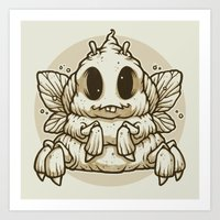 The Dung Beetle Art Print