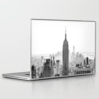 city Laptop & iPad Skins featuring New York City by Studio Laura Campanella
