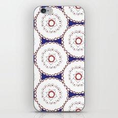 Kaleidoscope Circles iPhone & iPod Skin