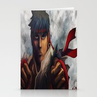 Ryu Focused  Stationery Cards