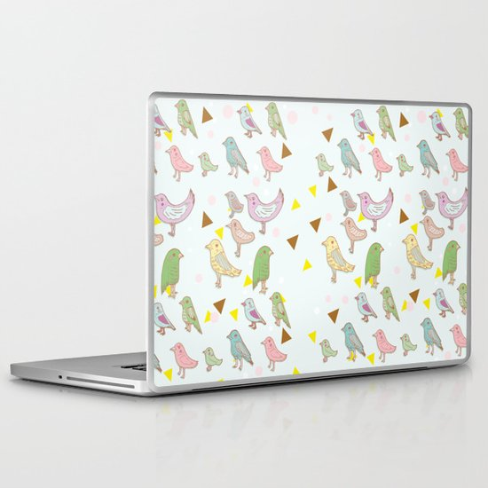 Bird Pattern Laptop & iPad Skin