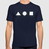 Hula-Hoop Champion (V2) Mens Fitted Tee Navy SMALL