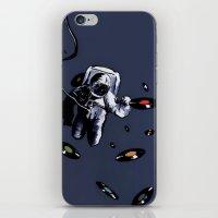 Interstellar Record Hunt iPhone & iPod Skin