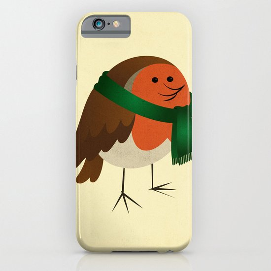 The Robin's new scarf iPhone & iPod Case