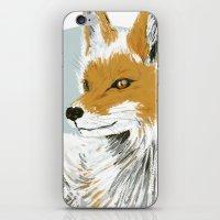 Winter Fox iPhone & iPod Skin