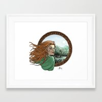 Elfic Framed Art Print