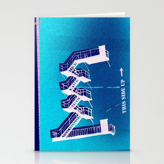 Stairs Up Stationery Card