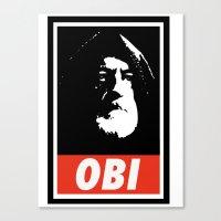 Obey Wan Canvas Print