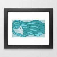 Deep Under Water Framed Art Print