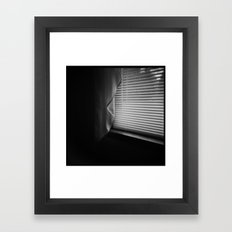 Happiness is Just Outside My Window Framed Art Print