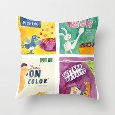 Green August #12 Throw Pillow