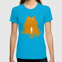 Lies Womens Fitted Tee Teal SMALL