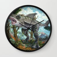 T-Shark Wall Clock