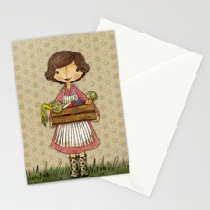 Anna the Farmer Stationery Cards