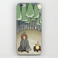 Campfire Girl iPhone & iPod Skin