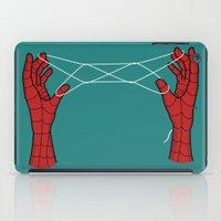 spidey hand trick iPad Case