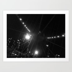 WHITEOUT : Light the Way Art Print