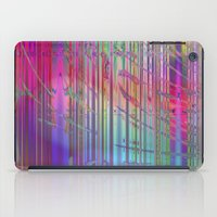colourful abstract iPad Case