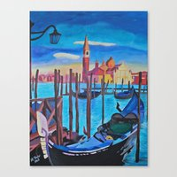 Venice From San Marco To… Canvas Print