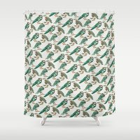 Little Crows Shower Curtain